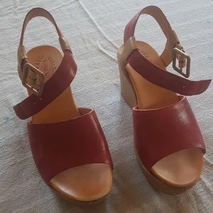 Platform Kork-Ease sandals 38